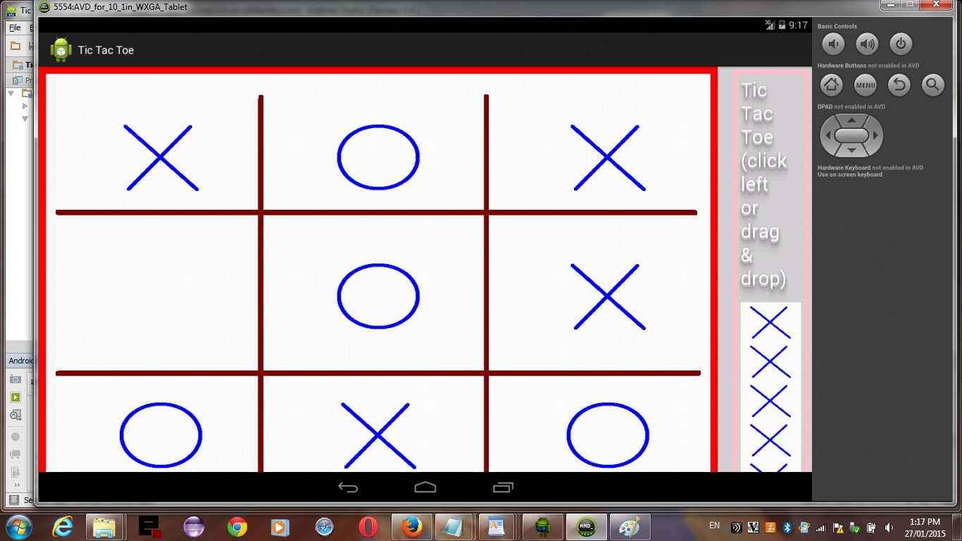 Android Studio Tic Tac Toe Game Tutorial