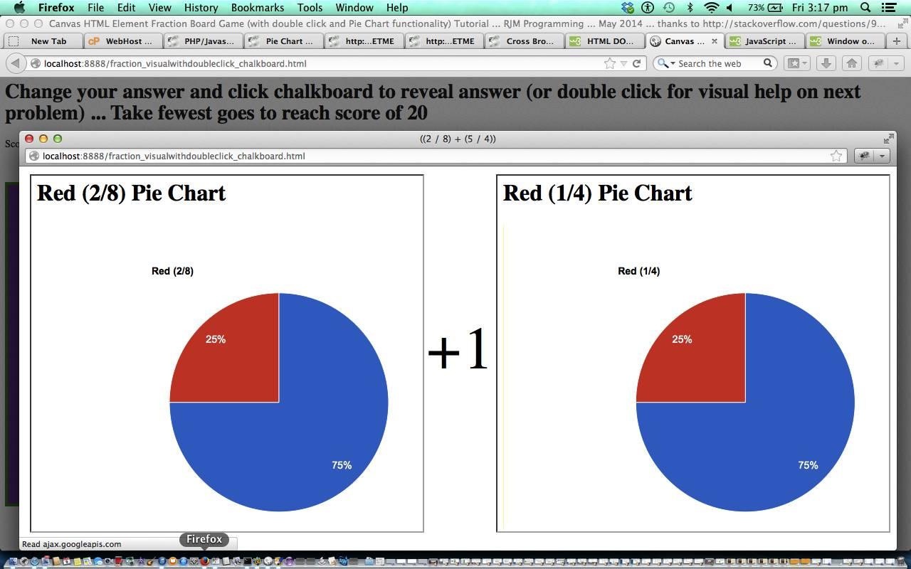 HTML/Javascript Canvas Visual Double Click Tutorial | Robert