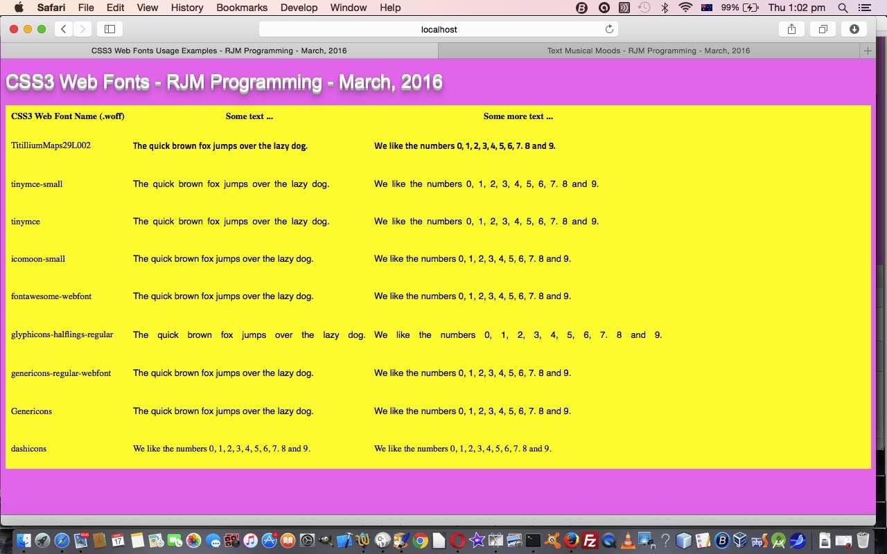 CSS3 Web Fonts Primer Tutorial