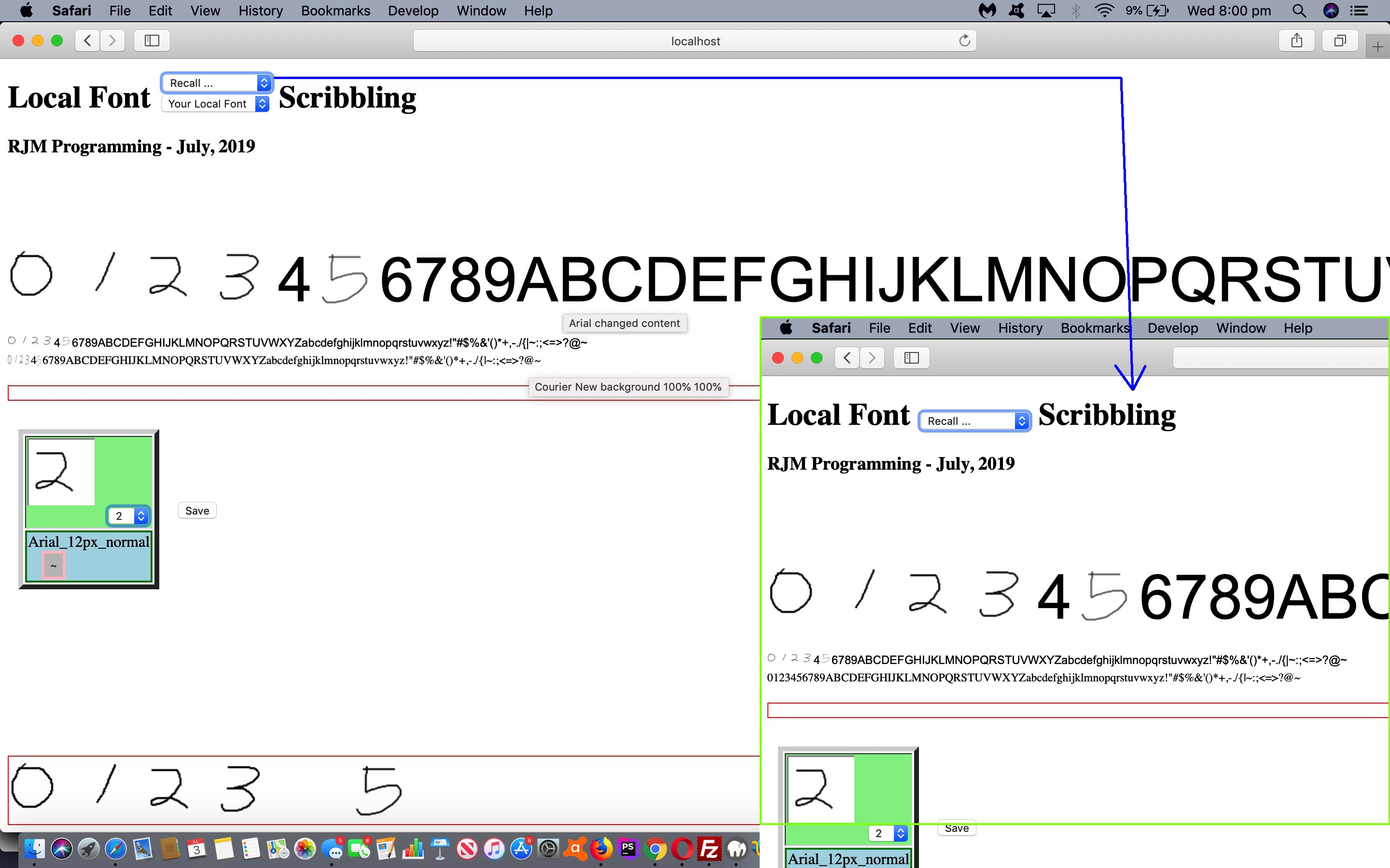 Local Fonts Revisited Application Tutorial