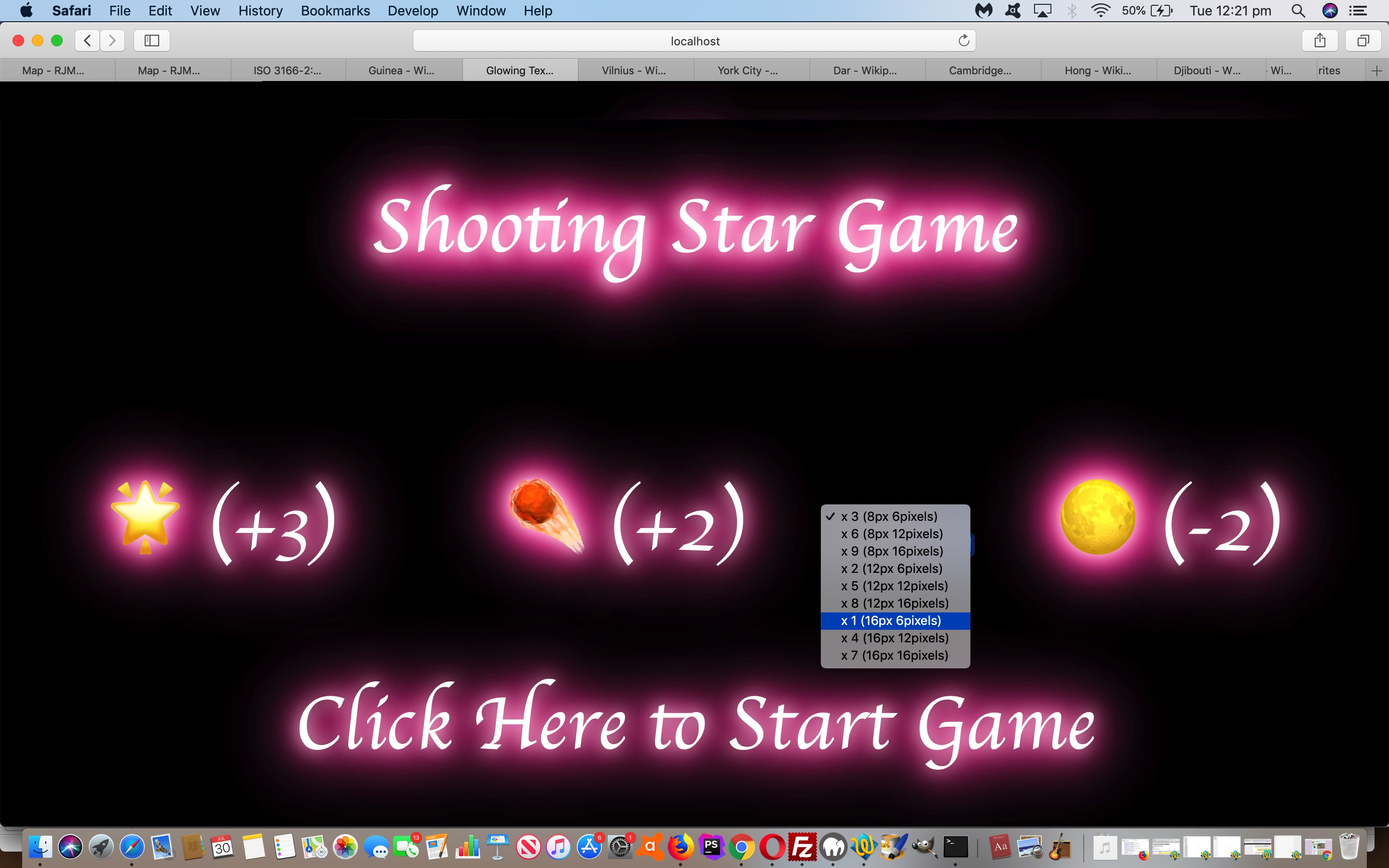 Shooting Star Game Primer Tutorial