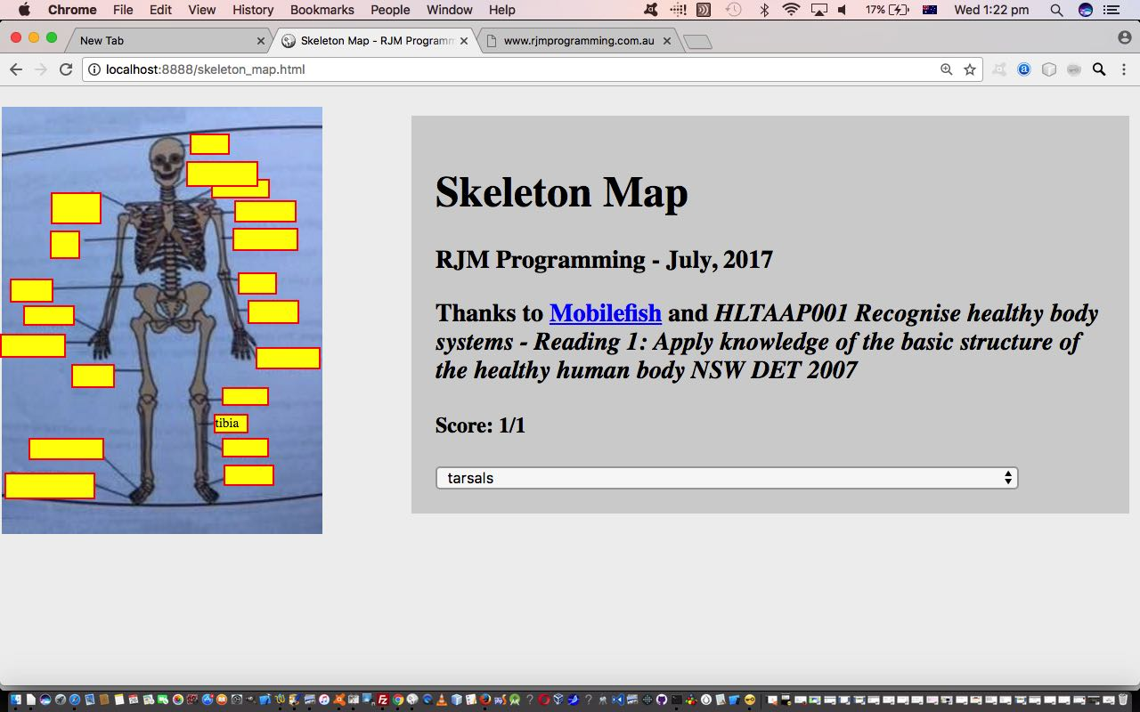 Skeletal System Game Primer Tutorial