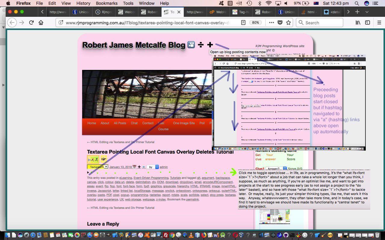 WordPress Blog Posting Thread Content Summary Tutorial