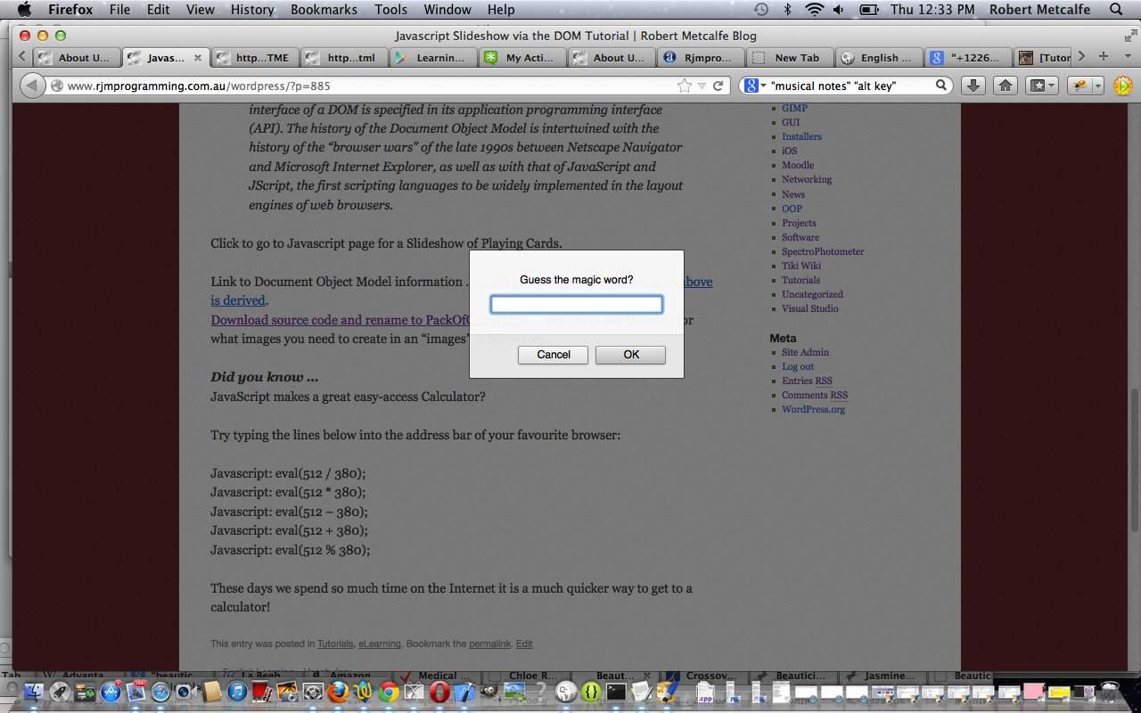 How to write bookmarklet