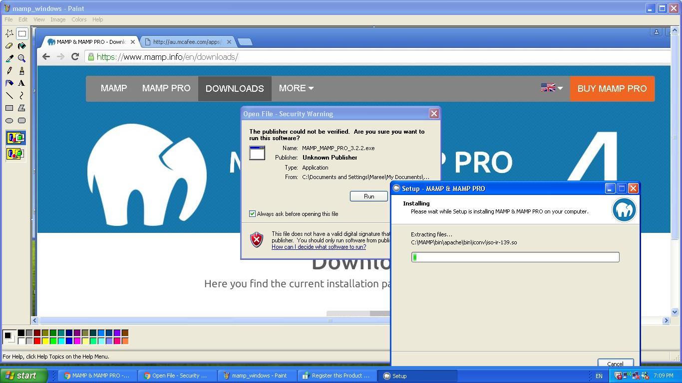 MAMP on Windows Primer Tutorial | Robert Metcalfe Blog