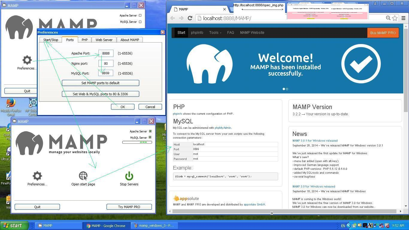 MAMP on Windows Primer Tutorial | Robert Metcalfe Blog