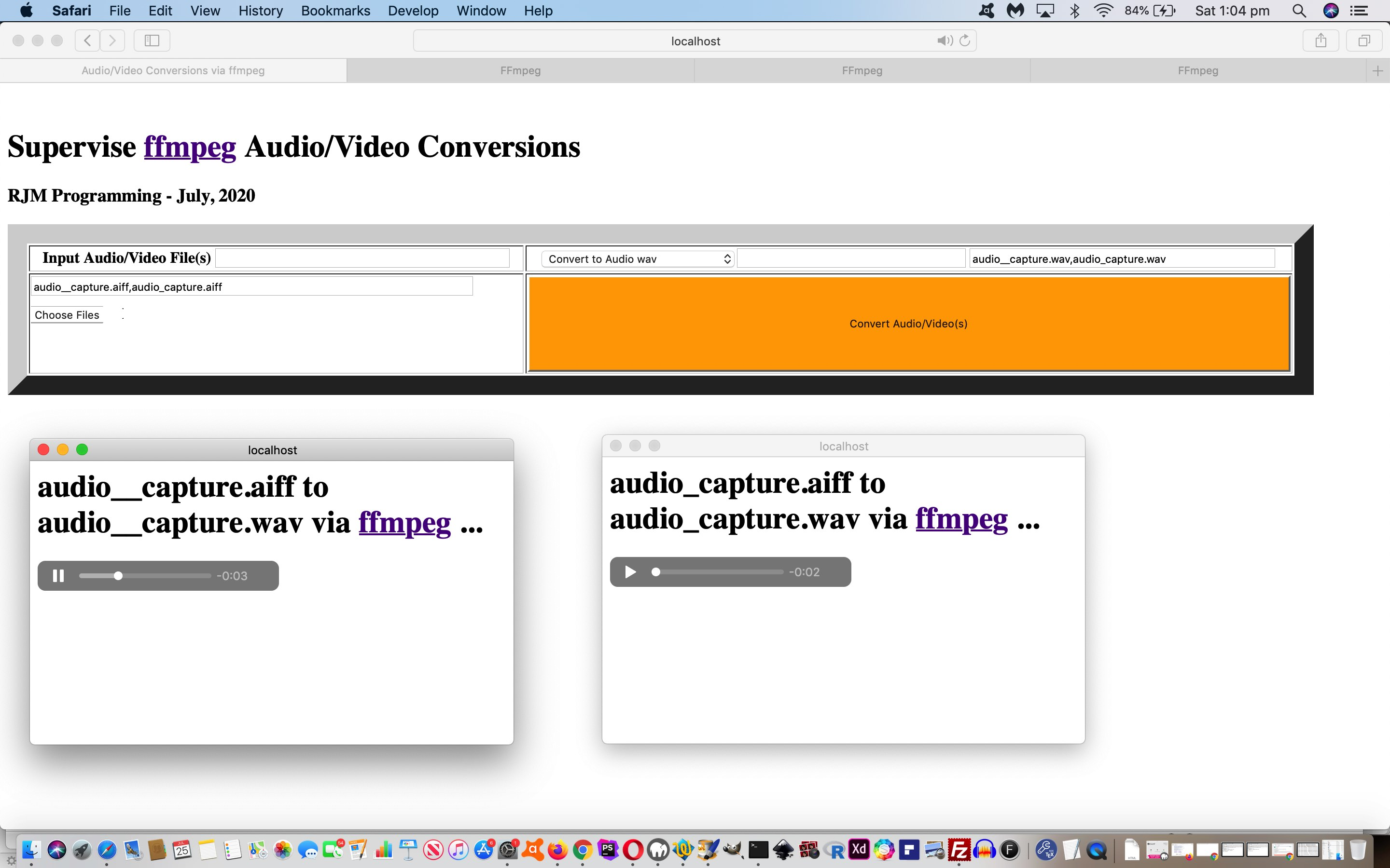 Audio and Video Supervised Conversions Primer Tutorial