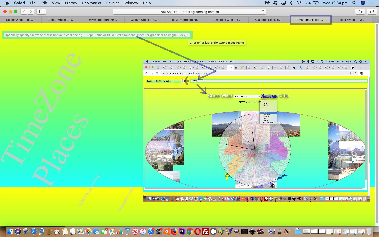 C++ X11 Analogue Clock Timezone Aesthetics Tutorial