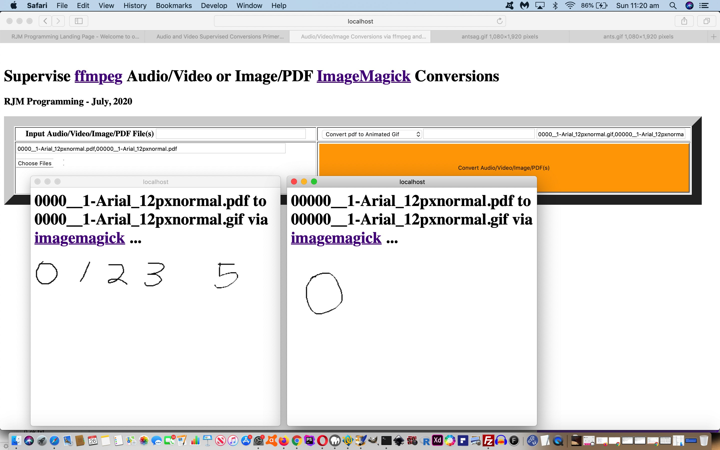 Image/PDF and Audio/Video Supervised Conversions Tutorial