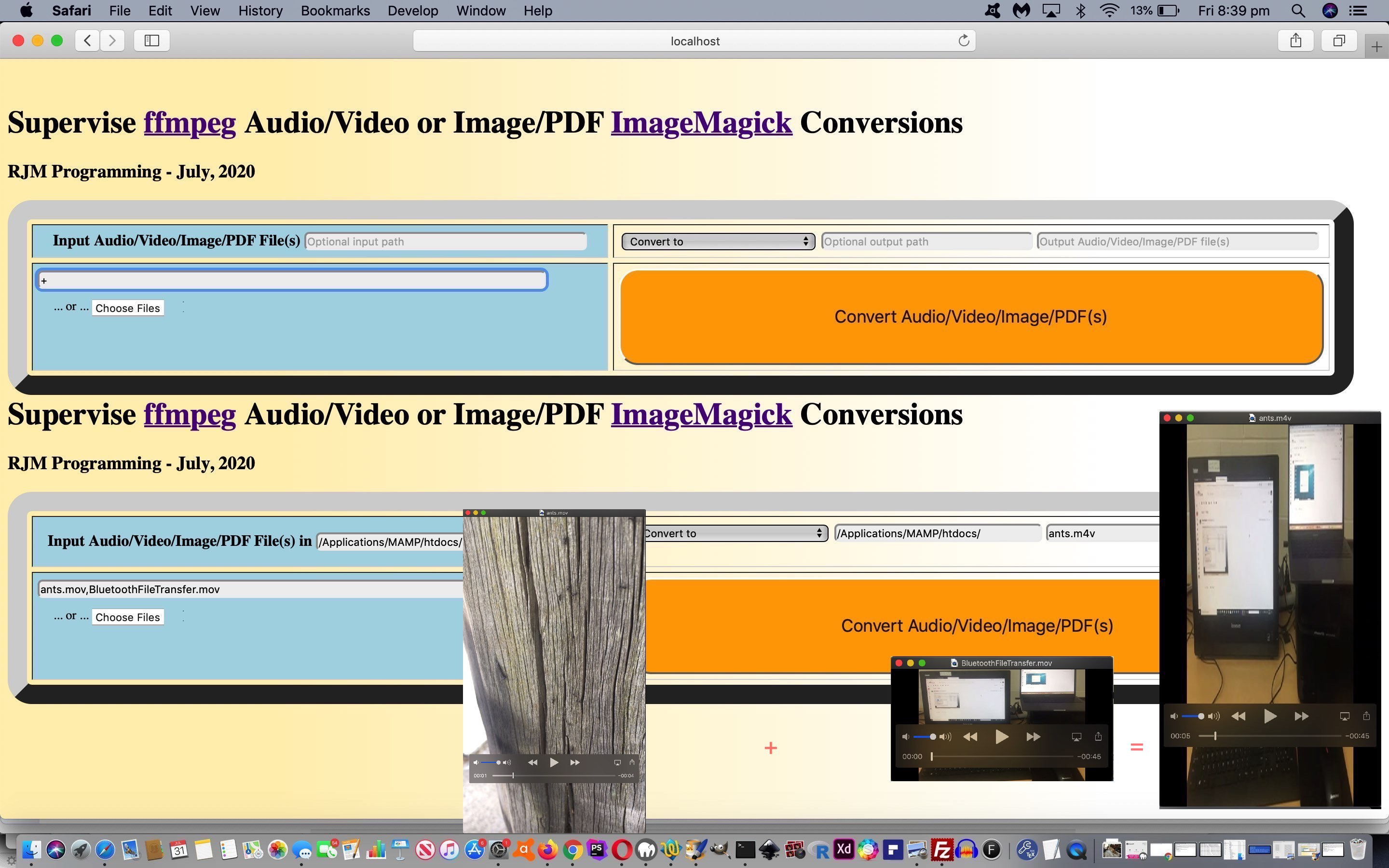 Image/PDF and Audio/Video Supervised Concatenate Tutorial