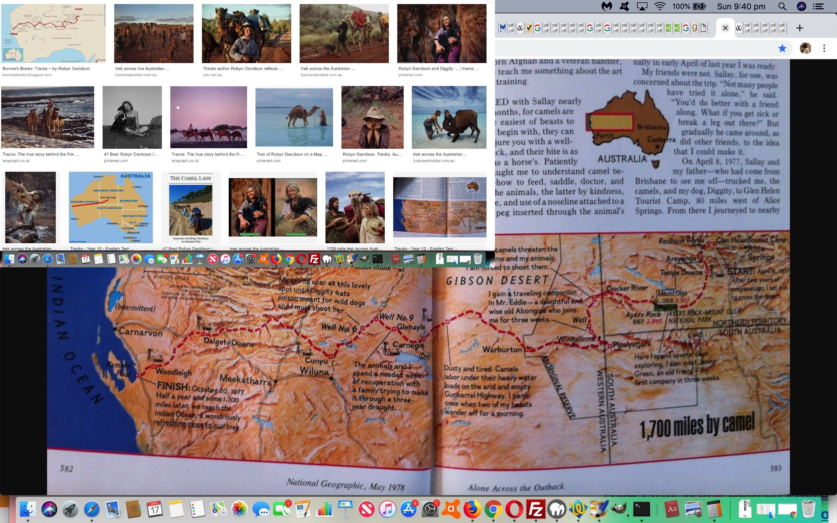 Tracks Solo Trek Across 1700 Miles of Australian Outback by Robyn Davidson Tutorial