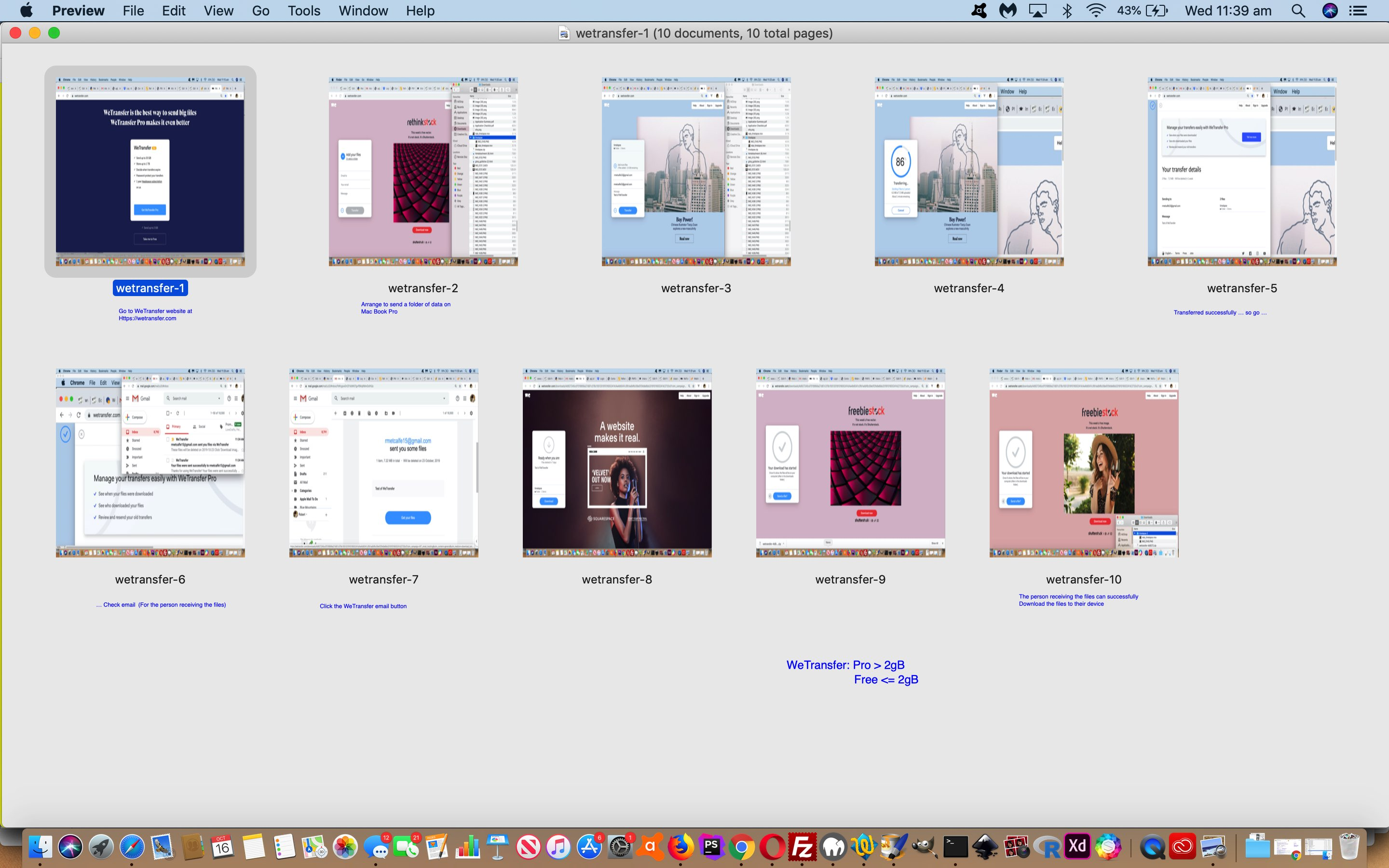 WeTransfer Primer Tutorial