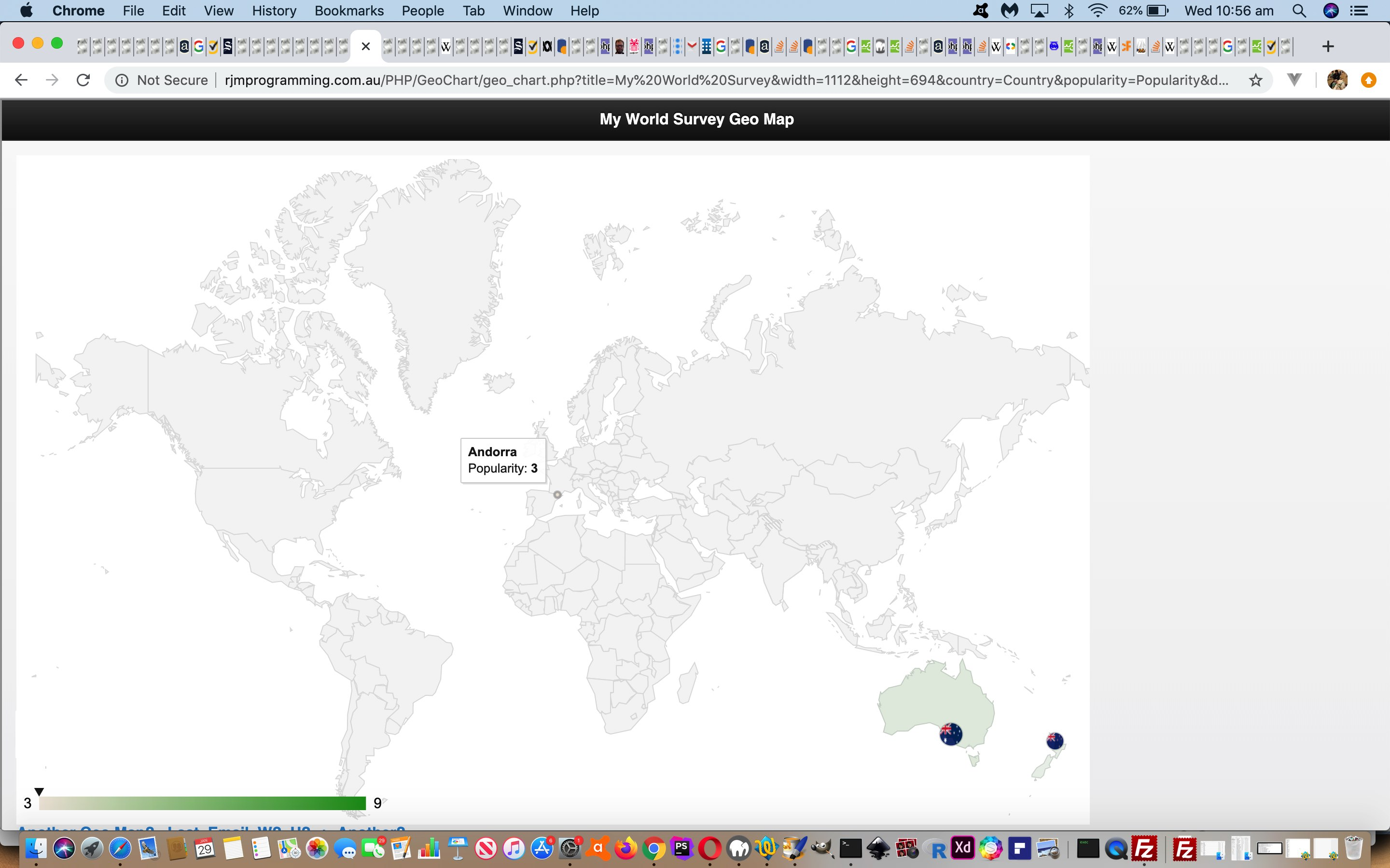 Google Chart Geo Chart Small Countries Overlay Tutorial
