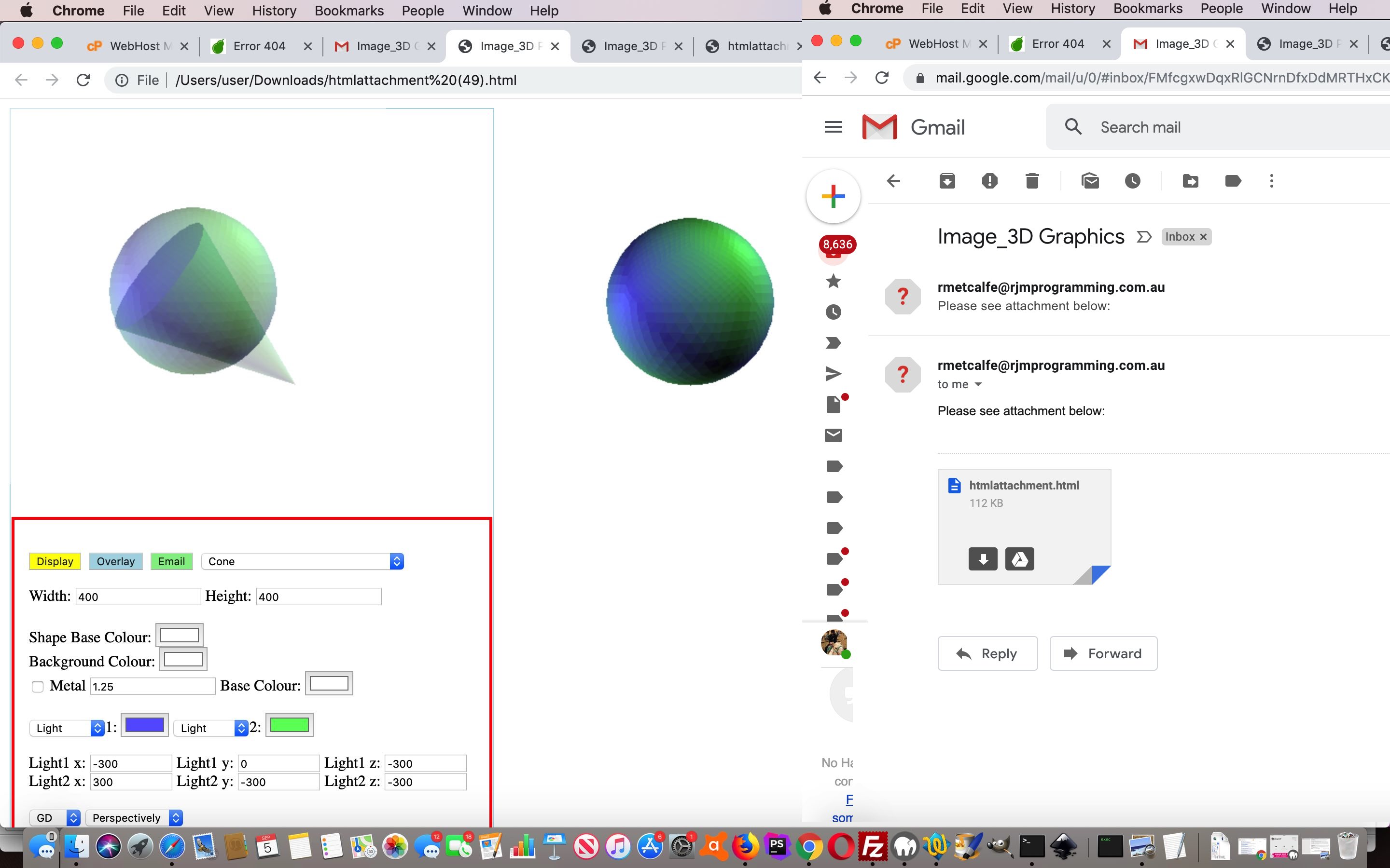 Image_3D PHP Package Sharing Tutorial