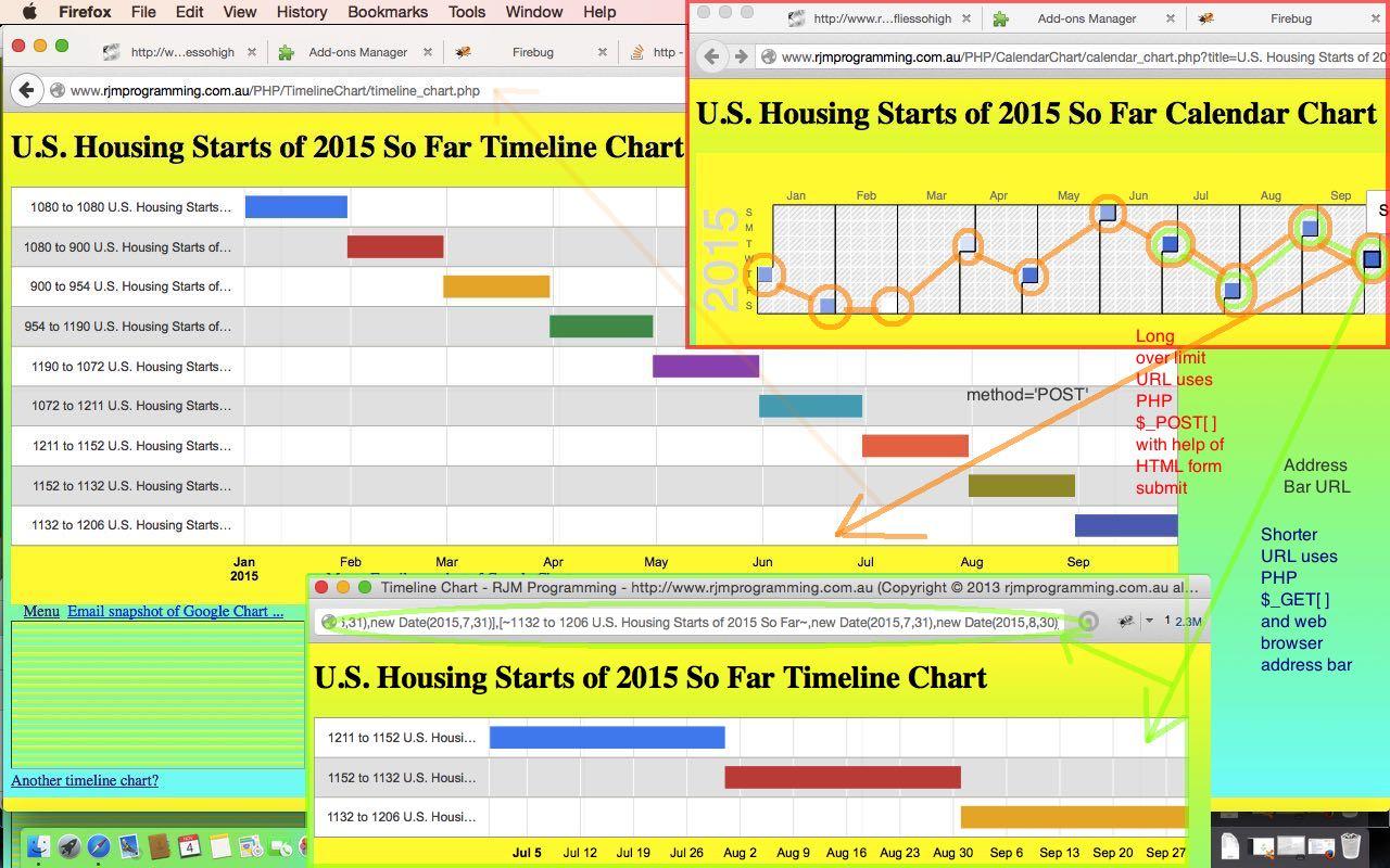 Google Chart Select Event Calendar Timeline Post Tutorial | Robert
