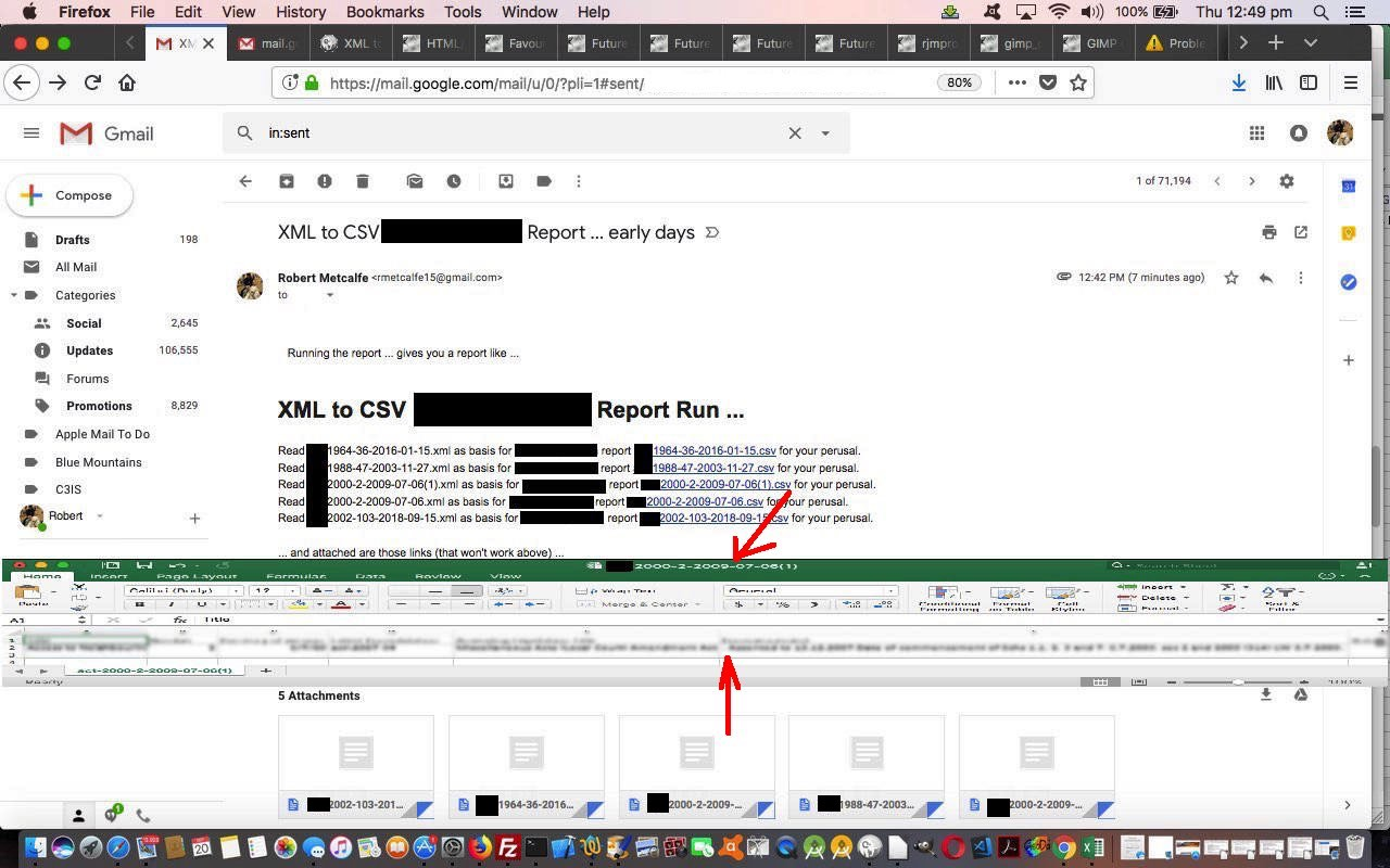 XML to CSV Report Primer Tutorial