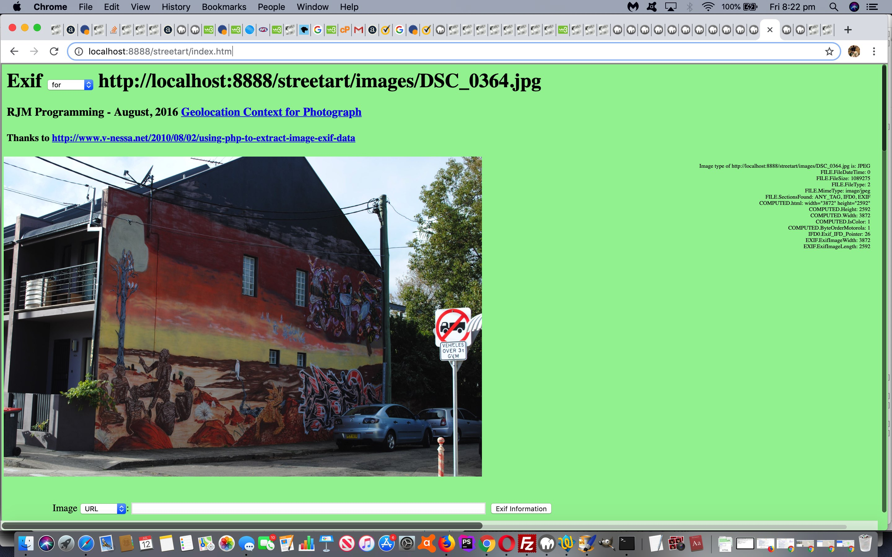 PHP Exif Image Information Revisit Tutorial