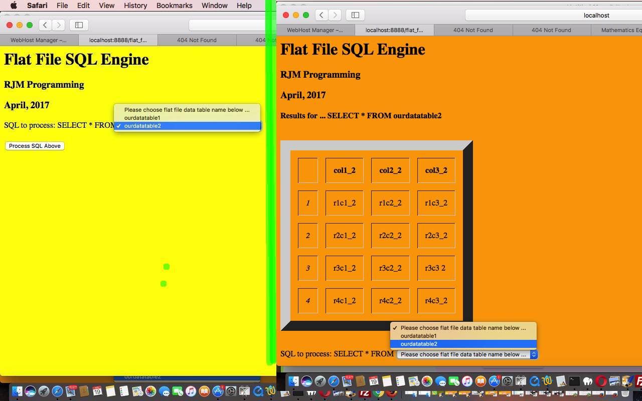 Sql for flat files primer tutorial robert metcalfe blog sql for flat files primer tutorial baditri Images