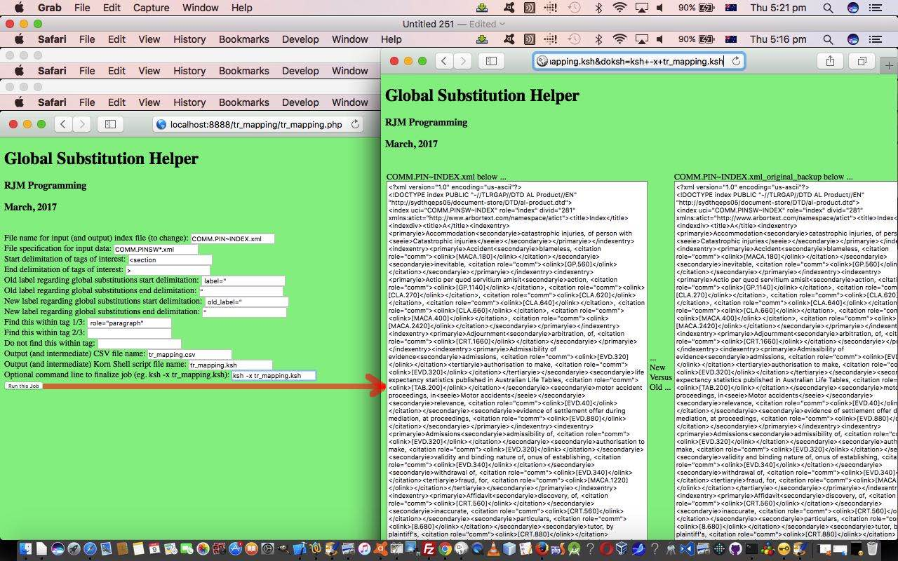 Spreadsheet and XML Global Substitution Genericization Tutorial