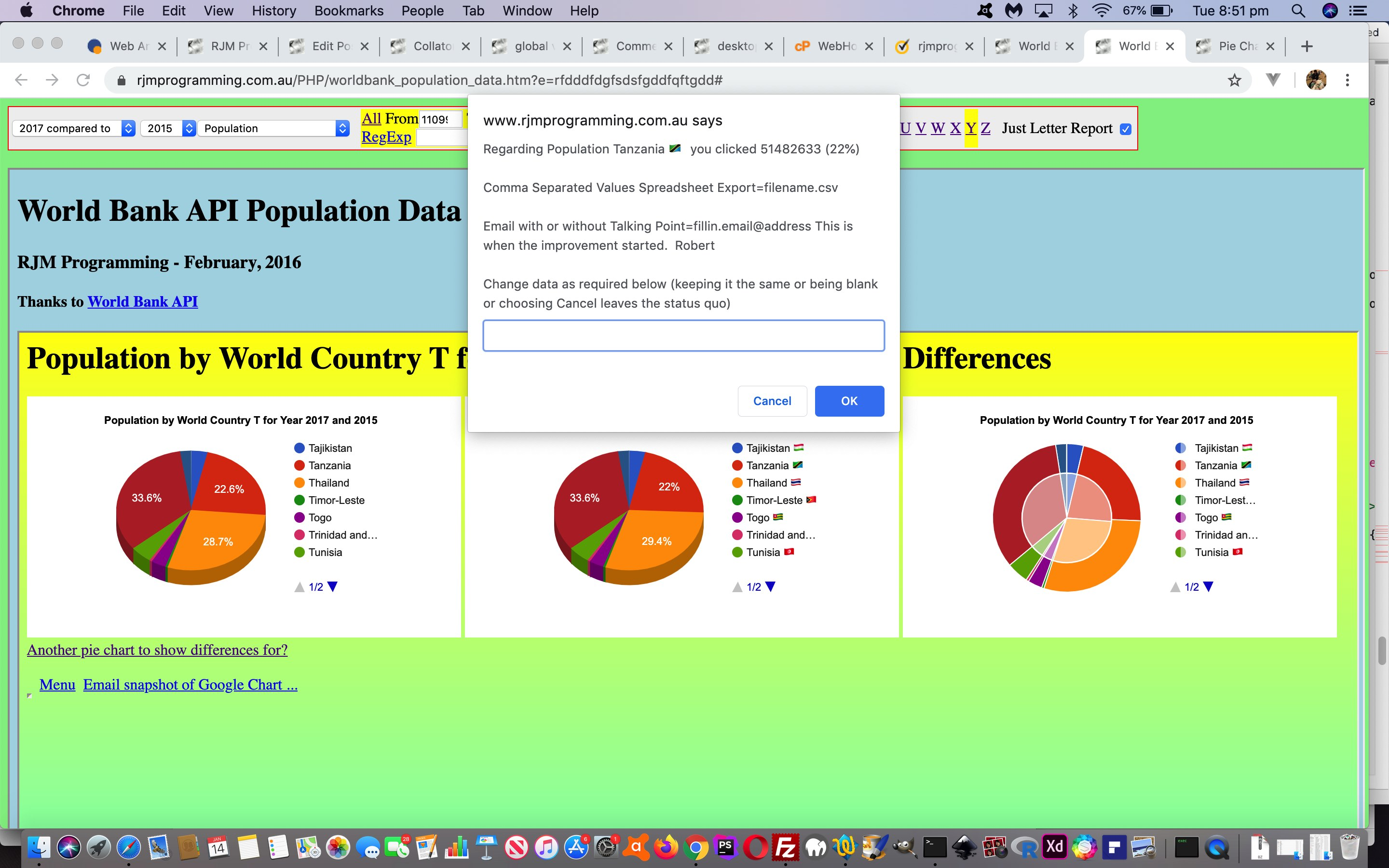 Worldbank API World Country Reporting Revisit Tutorial