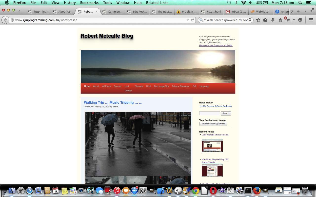 Wordpress Recent Post Image Primer Tutorial