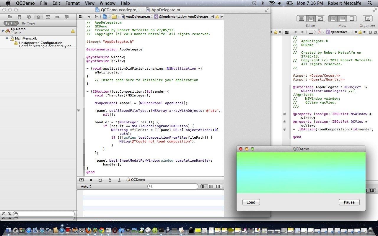 XCode Objective-C User Interface Builder Primer Tutorial