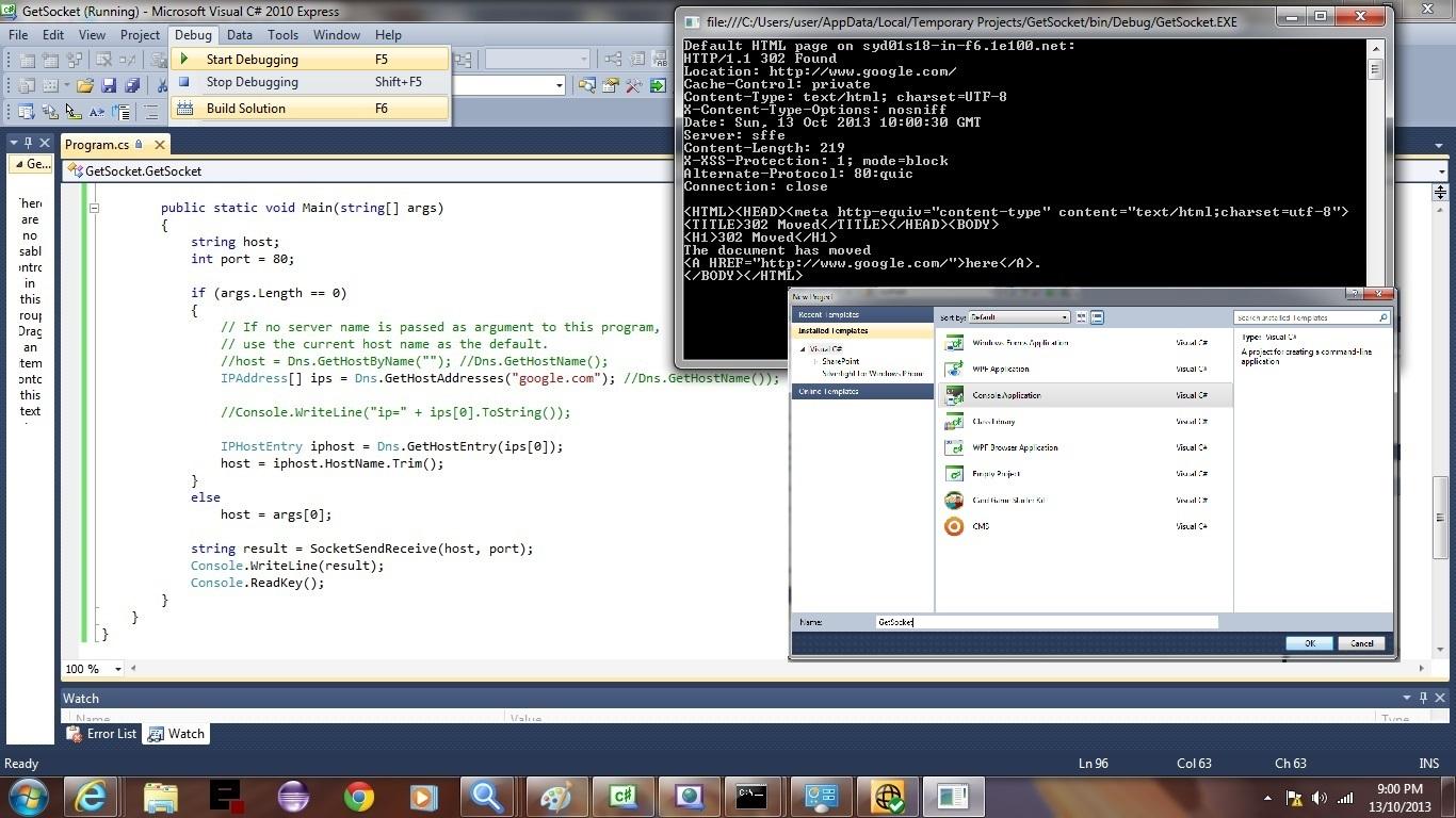 visual studio how to change cs to vb