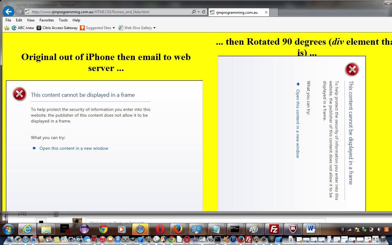Google Drive Embed Video CSS Rotation Code Tutorial   Robert