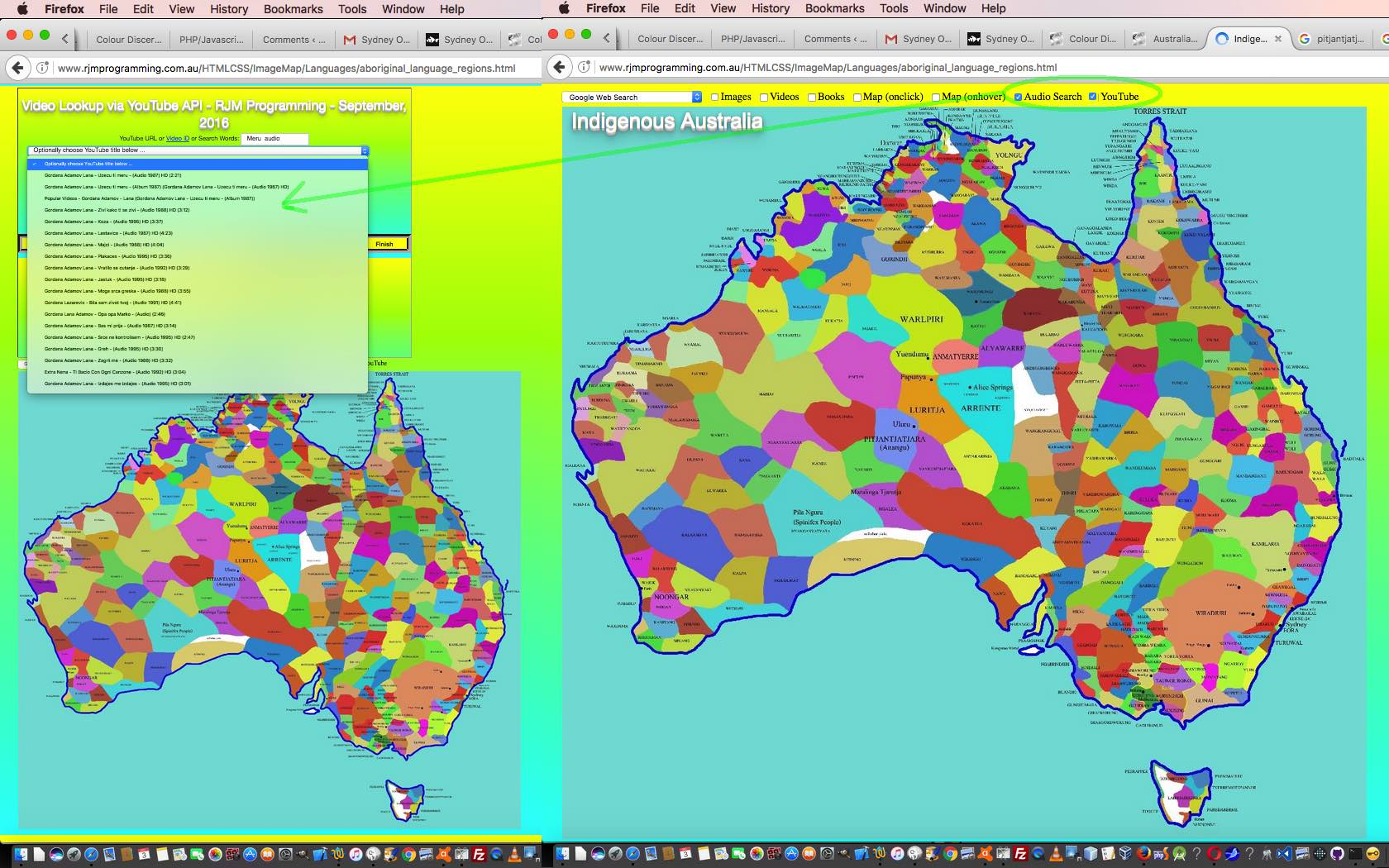 australia map youtube