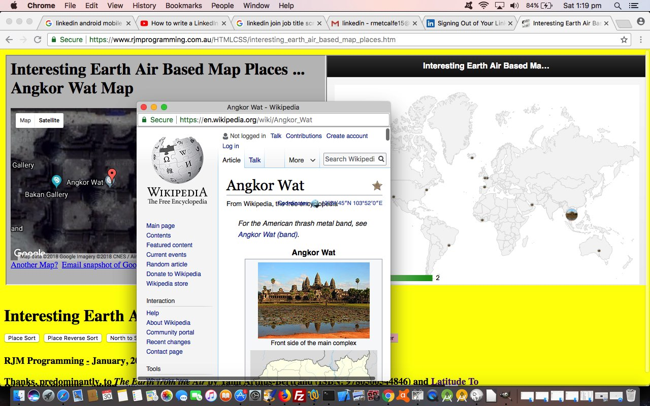 Google Geo Chart Contextualizes Interesting Places Tutorial