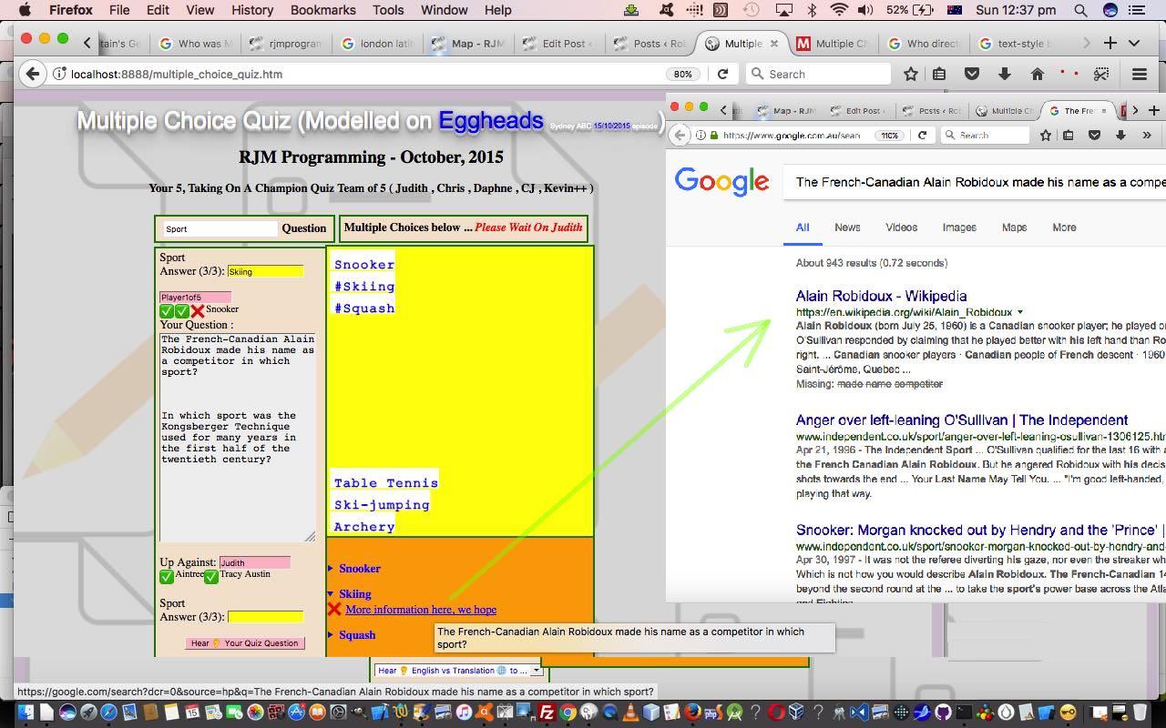 Htmljavascript multiple choice quiz reveal tutorial robert htmljavascript multiple choice quiz reveal tutorial baditri Images