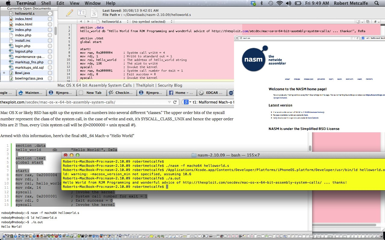 Assembler For Windows 7 64 Bit