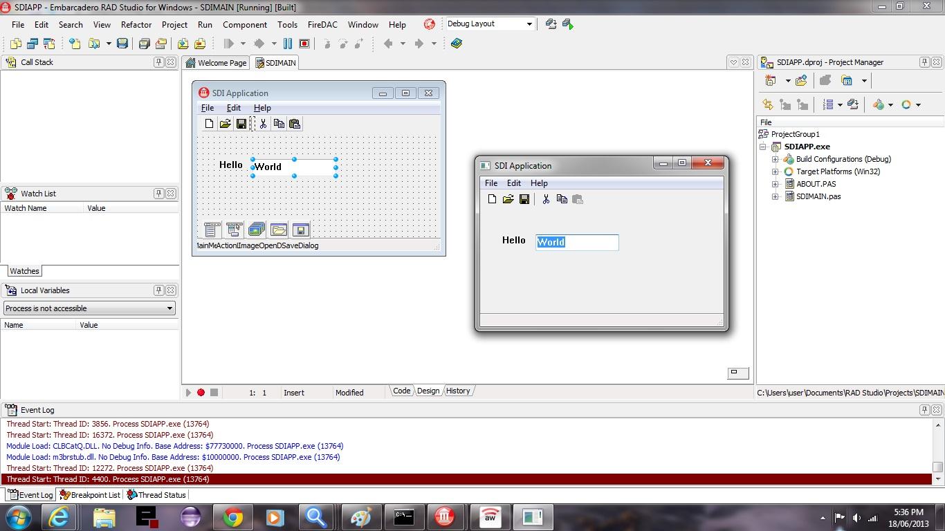 Delphi prism hello calculator youtube.